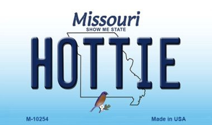 Hottie Missouri State License Plate Wholesale Magnet