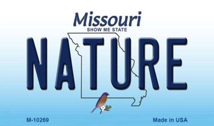 Nature Missouri State License Plate Wholesale Magnet