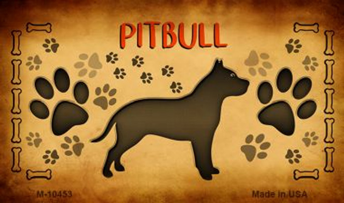 Pitbull Wholesale Magnet