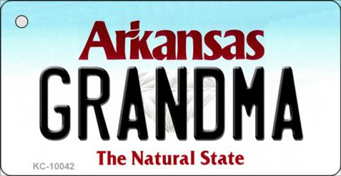Grandma Arkansas State License Plate Wholesale Key Chain KC-10042