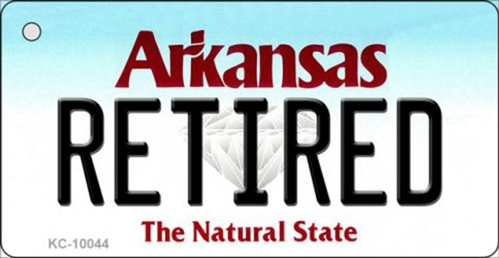Retired Arkansas State License Plate Wholesale Key Chain KC-10044