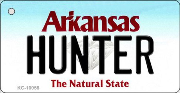 Hunter Arkansas State License Plate Wholesale Key Chain KC-10058