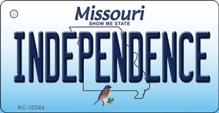 Independence Missouri State License Plate Wholesale Key Chain