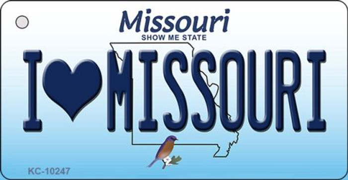 I Love Missouri Missouri State License Plate Wholesale Key Chain