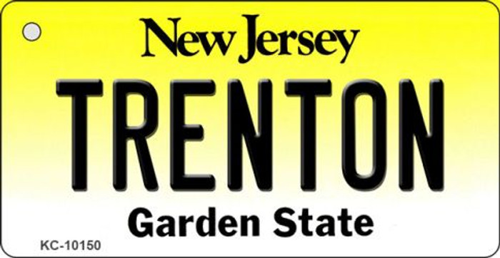 Trenton New Jersey State License Plate Wholesale Key Chain