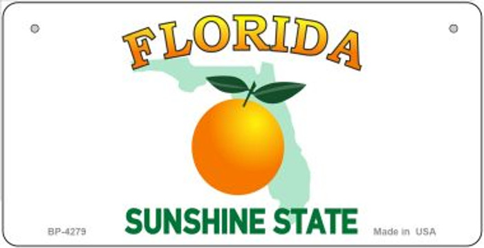 Florida State Background Novelty Wholesale Bicycle License Plate