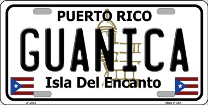 Guanica Puerto Rico Wholesale Metal Novelty License Plate LP-2838