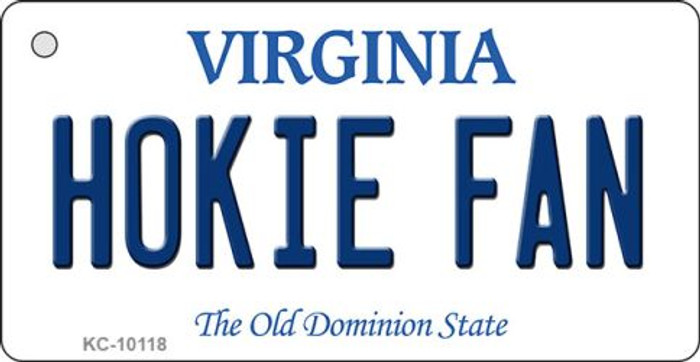 Hokie Fan Virginia State License Plate Wholesale Key Chain