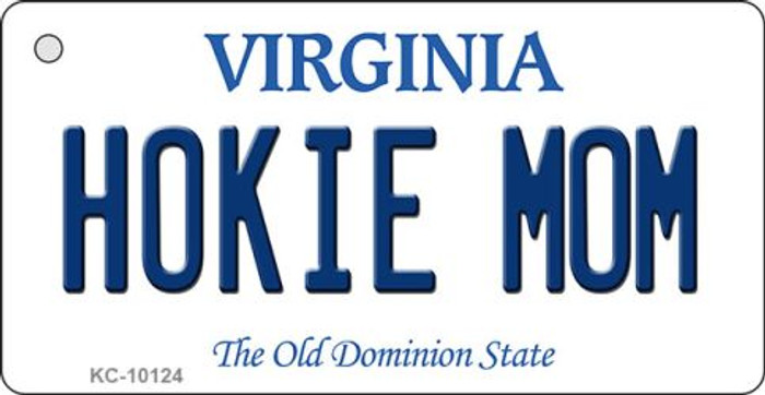 Hokie Mom Virginia State License Plate Wholesale Key Chain