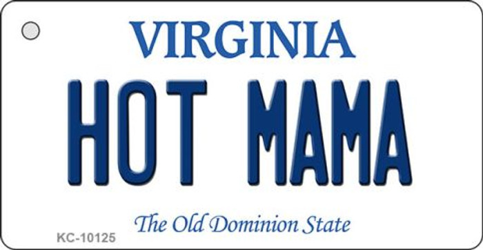 Hot Mama Virginia State License Plate Wholesale Key Chain