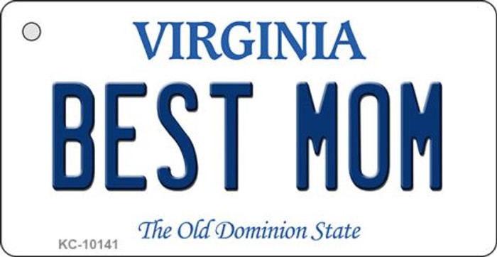 Best Mom Virginia State License Plate Wholesale Key Chain
