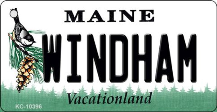 Windham Maine State License Plate Wholesale Key Chain