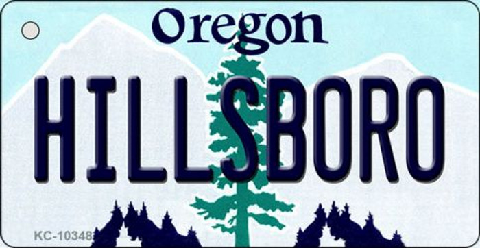 Hillsboro Oregon State License Plate Wholesale Key Chain
