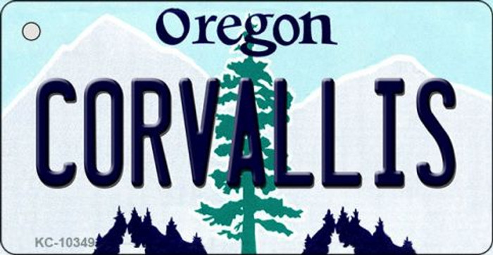 Coroallis Oregon State License Plate Wholesale Key Chain