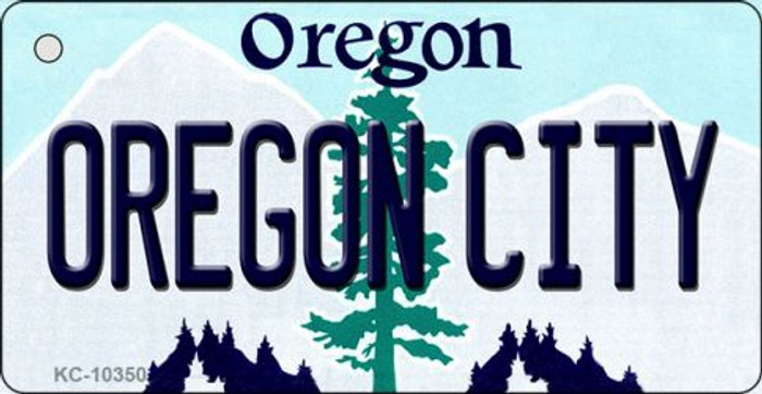 Oregon City Oregon State License Plate Wholesale Key Chain