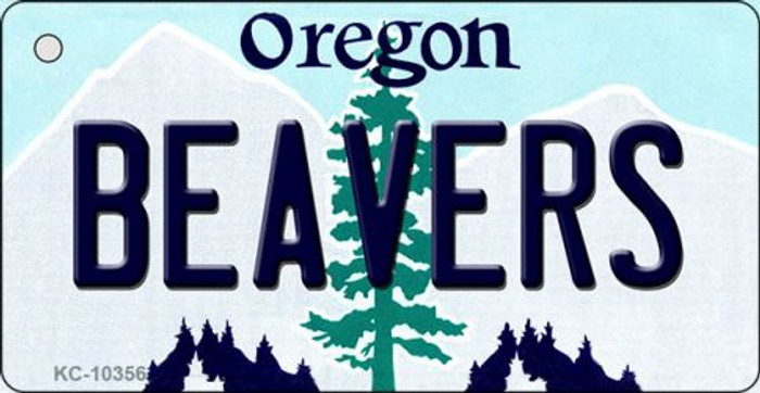Beavers Oregon State License Plate Wholesale Key Chain