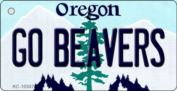 Go Beavers Oregon State License Plate Wholesale Key Chain