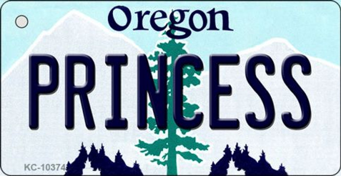 Princess Oregon State License Plate Wholesale Key Chain