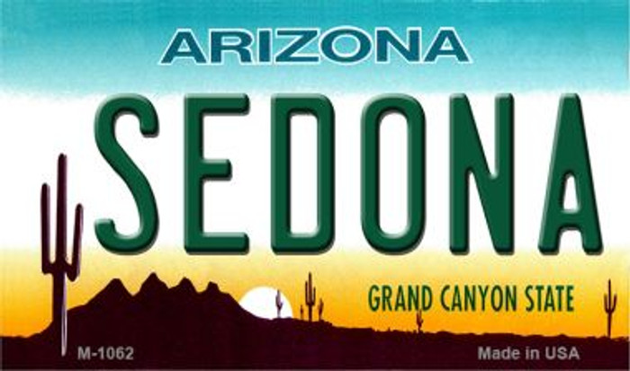 Sedona Arizona State License Plate Wholesale Magnet