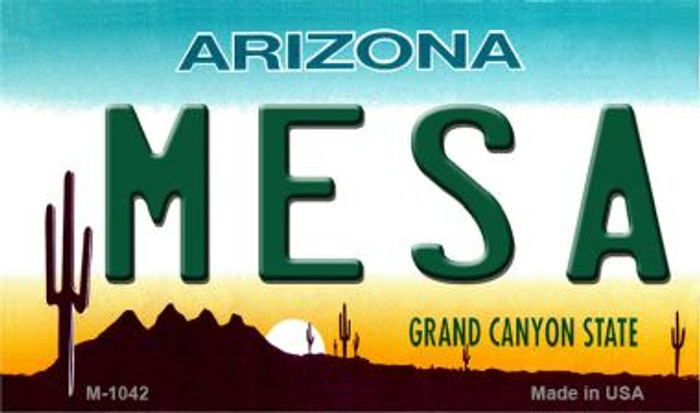 Mesa Arizona State License Plate Wholesale Magnet