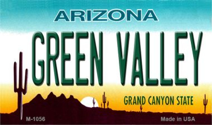 Green Valley Arizona State License Plate Wholesale Magnet