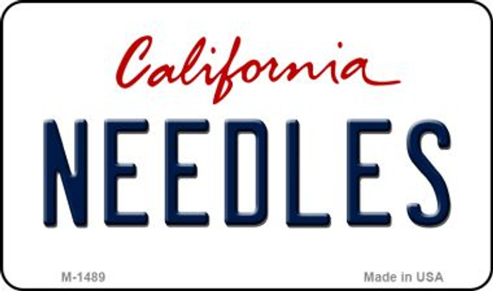 Needles California State License Plate Wholesale Magnet