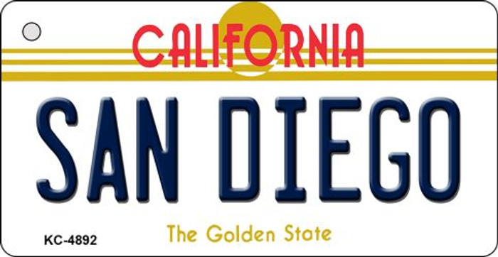 San Diego California State License Plate Wholesale Key Chain