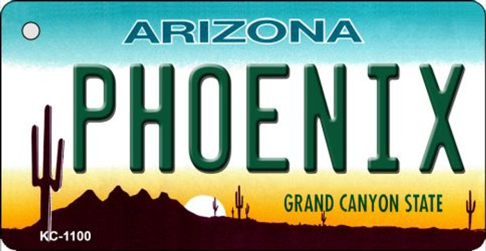 Phoenix Arizona State License Plate Wholesale Key Chain
