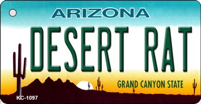 Desert Rat Arizona State License Plate Wholesale Key Chain