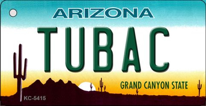 Tubac Arizona State License Plate Wholesale Key Chain