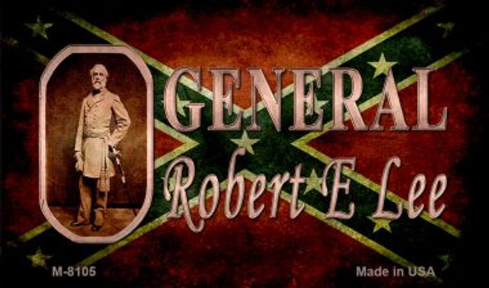 General Robert E Lee Novelty Wholesale Magnet