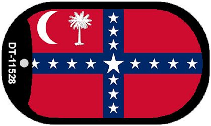 South Carolina Sovereignty Flag Dog Tag Kit Novelty Wholesale Necklace