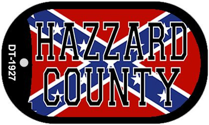 Hazzard County Confederate Flag Dog Tag Kit Wholesale Novelty Necklace DT-1927