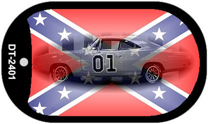 Confederate General Lee Dog Tag Kit Wholesale Novelty Necklace DT-2401