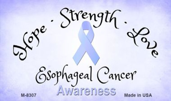 Esophageal Cancer Ribbon Wholesale Novelty Magnet M-8307