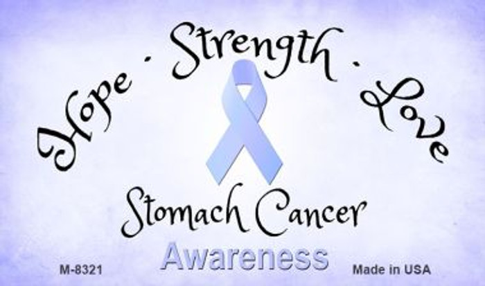 Stomach Cancer Ribbon Wholesale Novelty Magnet M-8321