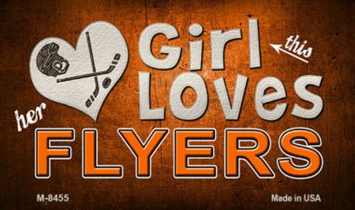 This Girl Loves Her Flyers Wholesale Magnet M-8455