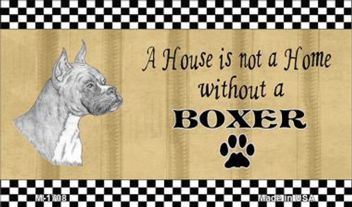 Boxer Pencil Sketch Wholesale Magnet M-1708