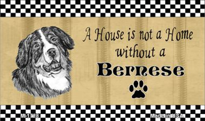 Bernese Pencil Sketch Wholesale Magnet M-1728