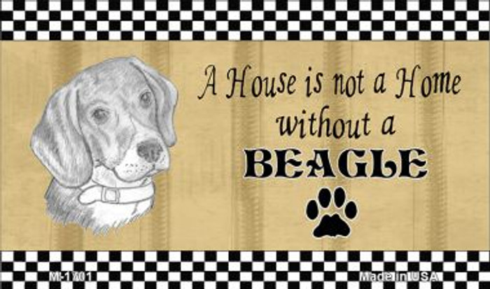 Beagle Pencil Sketch Wholesale Magnet M-1701