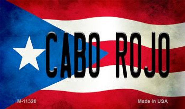 Cabo Rojo Puerto Rico State Flag Wholesale Magnet M-11326