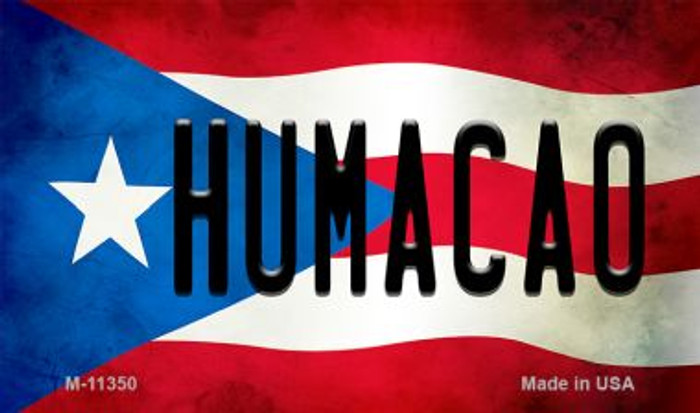 Humacao Puerto Rico State Flag Wholesale Magnet M-11350