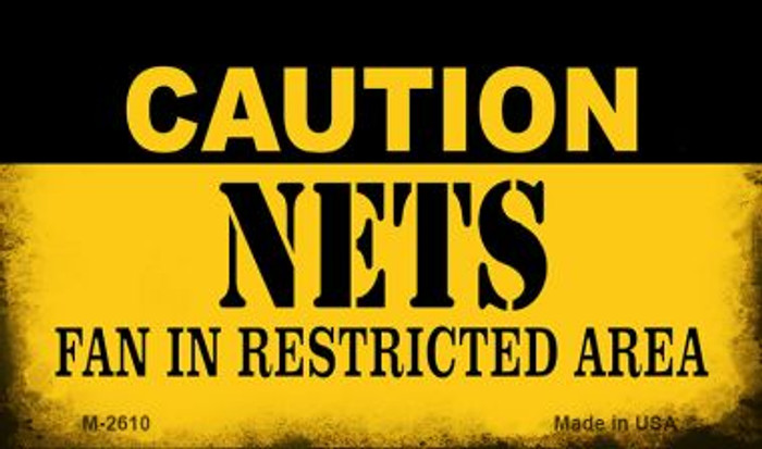 Caution Nets Fan Area Wholesale Magnet M-2610
