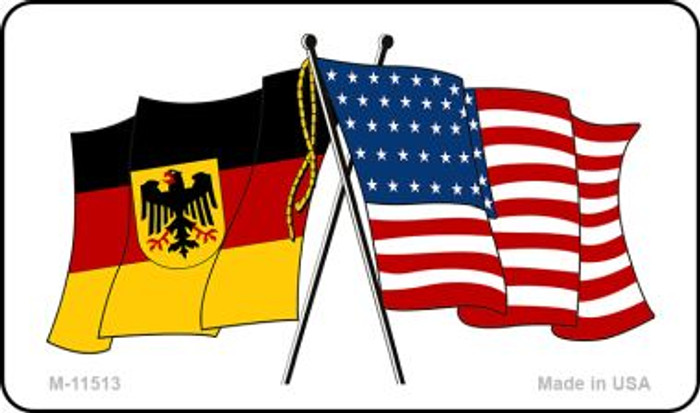 Germany Crossed US Flag Wholesale Magnet M-11513
