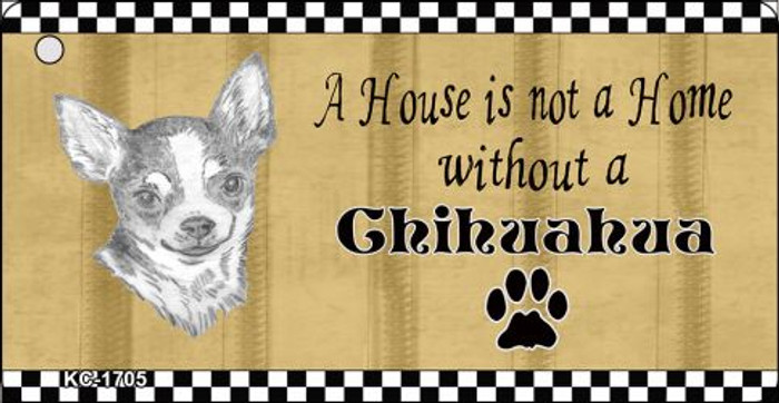 Chihuahua Pencil Sketch Wholesale Key Chain KC-1705
