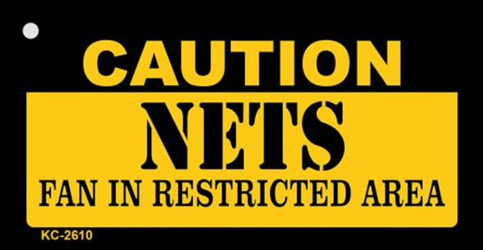 Caution Nets Fan Area Wholesale Key Chain KC-2610