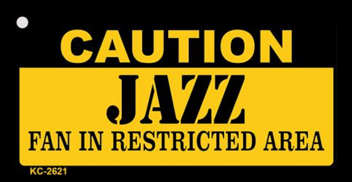 Caution Jazz Fan Area Wholesale Key Chain KC-2621