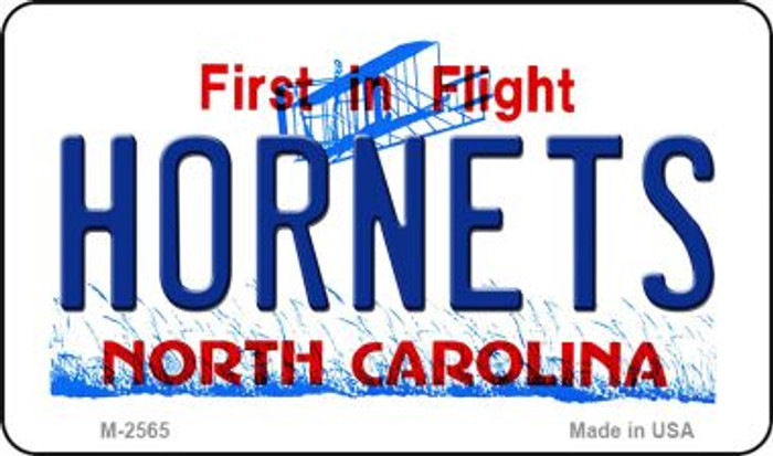 Hornets North Carolina State License Plate Wholesale Magnet M-2565