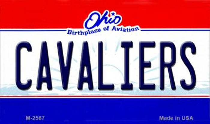 Cavaliers Ohio State License Plate Wholesale Magnet M-2567