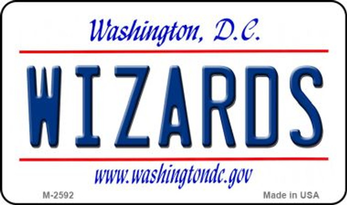 Wizards Washington DC State License Plate Wholesale Magnet M-2592